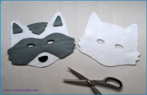 Masque raton laveur DIY 2