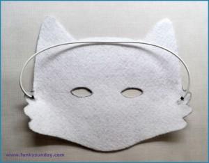 Masque raton laveur DIY 4