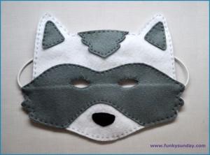 Masque raton laveur DIY 9