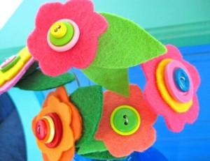 buttonfeltflowerbouquet
