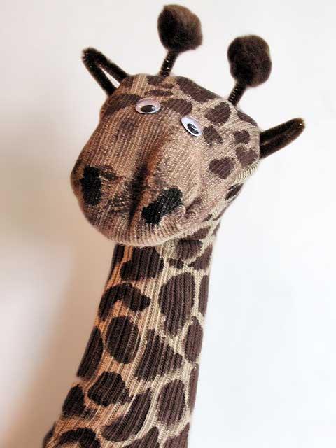 Жираф из носков своими руками Своими руками