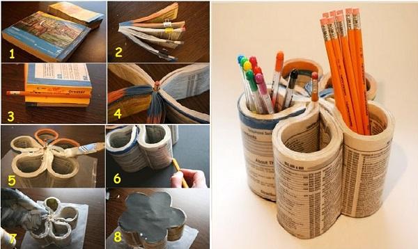 Diy для школы карандашница