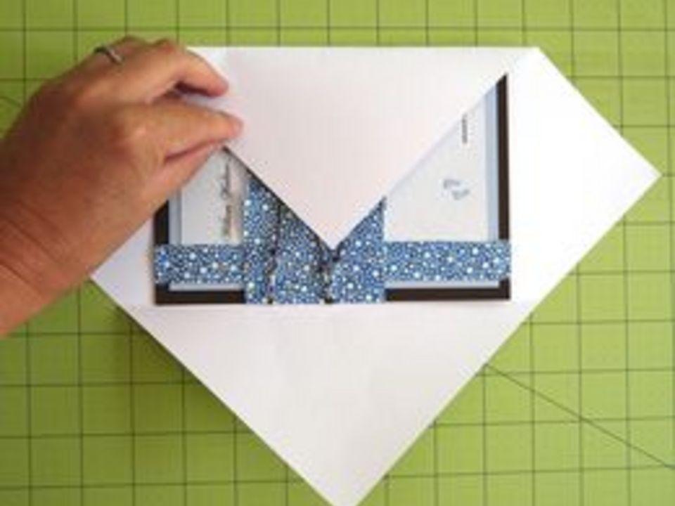 Как сделать конверт и отправить